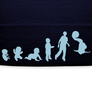 evolution waterpolo2 foetus human humain Tee shirts - Bonnet d'hiver