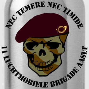 Nec Temere Nec Timide Garde Jagers 11 Luchtmobiele Brigade AASLT T-shirts - Drinkfles