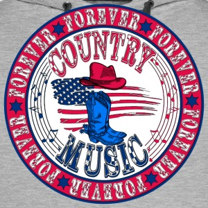 forever country music T-Shirts - Men's Premium Hoodie