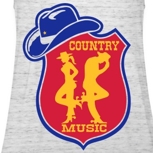 country music Tee shirts - Débardeur Femme marque Bella