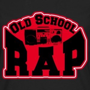 old school rap T-Shirts - Men's Premium Longsleeve Shirt