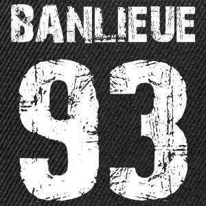 banlieue 93 Tee shirts - Casquette snapback