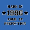 Made in 1996 T-Shirts - Männer Slim Fit T-Shirt