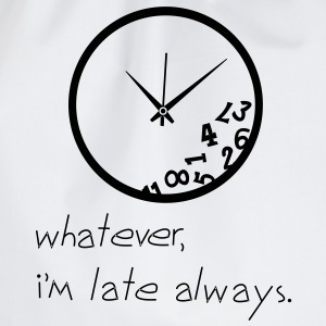 Late Clock T-Shirts - Turnbeutel