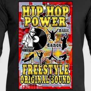 hip hop power freestyle original sound T-Shirts - Men's Sweatshirt by Stanley & Stella