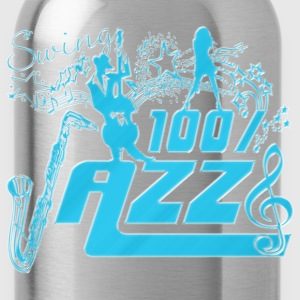 swing 100% jazz Tee shirts - Gourde