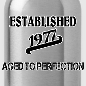 Established 1977 T-Shirts - Trinkflasche