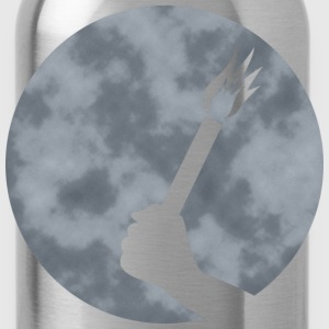 Evening sky Pyromond pyrotechnics  T-Shirts - Water Bottle