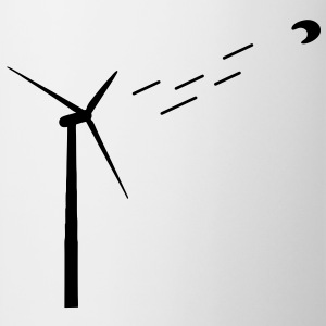 Wind energy / wind turbine T-Shirts - Mug