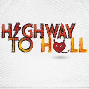 Highway to hell T-Shirts - Baseballkappe