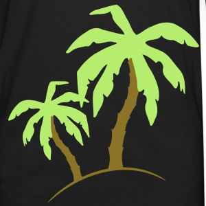 Palm Beach holiday sand Sun 2 c. T-shirts - Långärmad premium-T-shirt herr