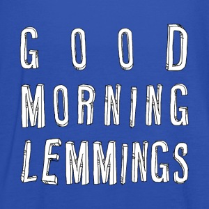 Good Morning Lemmings 01 ★ SpiritSpread T-Shirts - Women's Tank Top by Bella