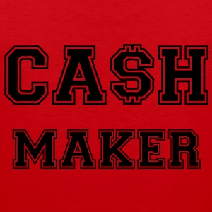 Cash Maker T-Shirts - Männer Premium Tank Top