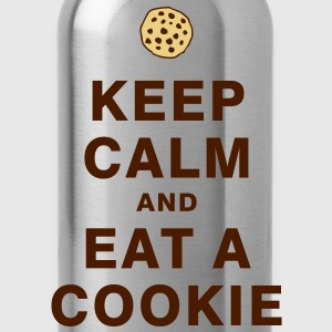 KEEP CALM AND EAT A COOKIE T-Shirts - Trinkflasche