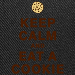KEEP CALM AND EAT A COOKIE T-Shirts - Snapback Cap