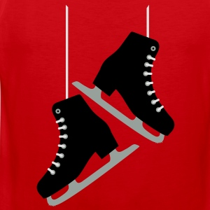 Black Skates / Skating T-Shirts - Men's Premium Tank Top