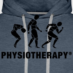 Three Physiotherapists T-Shirts - Men's Premium Hoodie