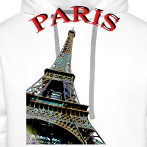 PARIS CREATION PARIS Tee shirts - Sweat-shirt à capuche Premium pour hommes