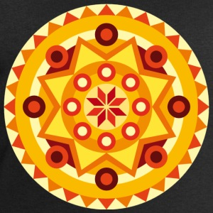 mandala orange T-Shirts - Men's Sweatshirt by Stanley & Stella