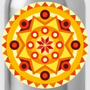 Mandala orange Tee shirts - Gourde
