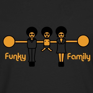 Funky family Tee shirts - T-shirt manches longues Premium Homme
