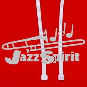 Wine jazz spirit T-Shirts - Contrast Colour Hoodie