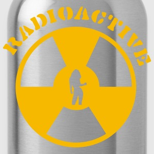 Dark navy Radioactive Girl T-Shirts - Water Bottle
