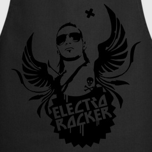 Black electro rocker Men's T-Shirts - Cooking Apron
