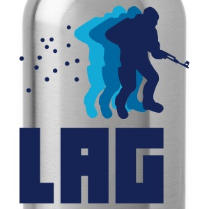Sky blue Lag T-Shirts - Water Bottle