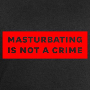 Schwarz masturbating is not a crime T-Shirt - Männer Sweatshirt von Stanley & Stella