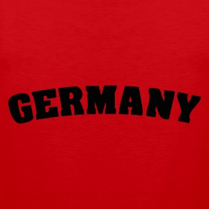 Red Germany T-Shirts - Men's Premium Tank Top