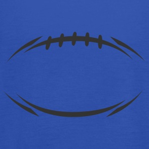 Sky blue american_football_modernstyle T-Shirt - Frauen Tank Top von Bella