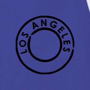 Royal blue Los Angeles Men's Tees (short-sleeved) - Cooking Apron