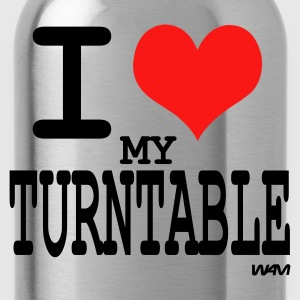 i love turntable T-shirts (m. courtes) - Gourde