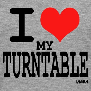 i love turntable T-shirts (m. courtes) - T-shirt manches longues Premium Homme