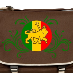 Camel lion_of_judah_jamaica_v2_3c Men's Tees - Shoulder Bag