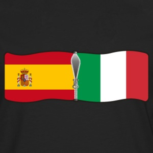 Egg yellow Spain Italy Men's Tees - Men's Premium Longsleeve Shirt