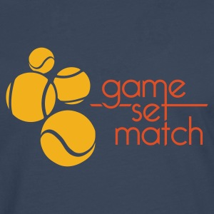 GAME SET MATCH - Men's Premium Longsleeve Shirt
