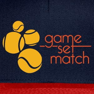 TENNIS: GAME SET MATCH - Snapback cap