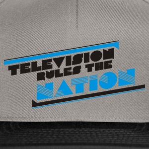 Camel television rules the nation T-Shirts - Snapback Cap