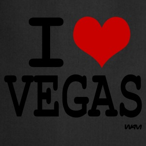 Noir i love vegas by wam T-shirts - Tablier de cuisine