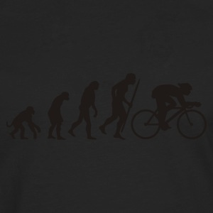 Egg yellow Evolution of cycling Men's Tees - Men's Premium Longsleeve Shirt