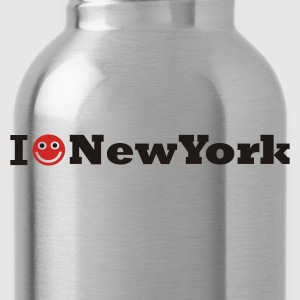 Koningsblauw i love new york T-shirts - Drinkfles