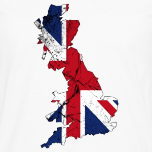 Blanc UK united kingdom T-shirts - T-shirt manches longues Premium Homme