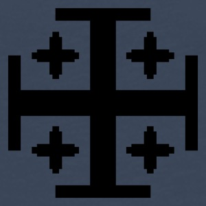 Dark navy 5 Kreuze / 5 crosses (1c) Men's T-Shirts - Men's Premium Longsleeve Shirt