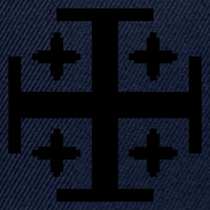 Dark navy 5 Kreuze / 5 crosses (1c) Men's T-Shirts - Snapback Cap