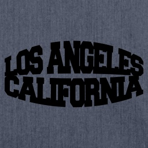 Navy los angeles california T-shirts - Schoudertas van gerecycled materiaal