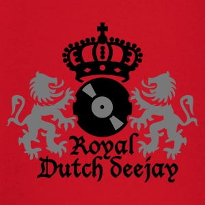 Dark orange Royal Dutch deejay T-shirts - T-shirt