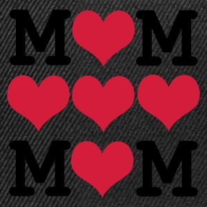 Negro loved mom - dia de la madre Camisetas - Gorra Snapback
