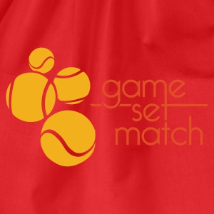 TENNIS: GAME SET MATCH - Gymtas